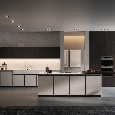 camera-artigianale-legno-massello-moderna-grigio-bianca-laccata (1)