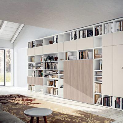 Soggiorno-moderno-libreria-componibile-legno-artigianale-classico-design (2)