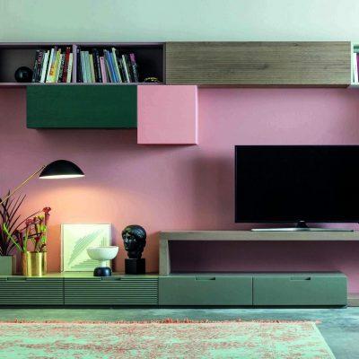Soggiorno-moderno-libreria-componibile-legno-masselòlo-rovere-torino-cuneo-polonghera-jpg