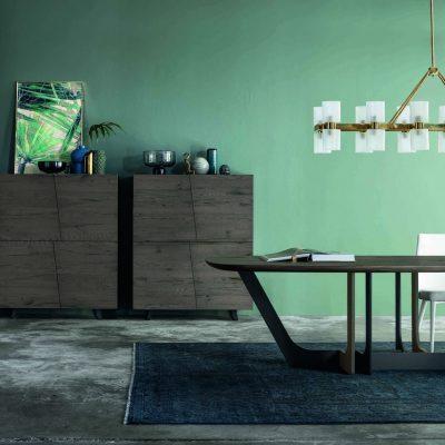 Soggiorno-moderno-libreria-componibile-legno-rovere-torino-cuneo-polonghera-(14)