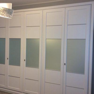camera-classica-laccata-bianca-argento-su misura-massello (3)